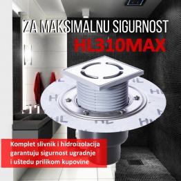 HL podni slivnik DN50/75/110