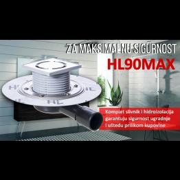HL podni slivnik DN40/50