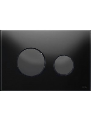 tece tipka staklo crno- tipke crne