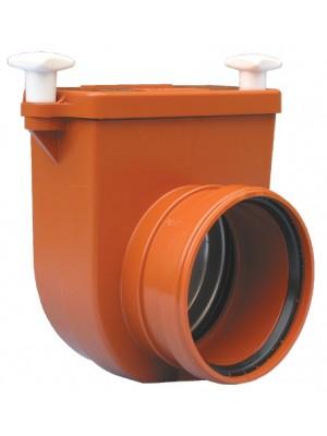 nepovratna klapna za žabljim poklopcem za kanalizaciju