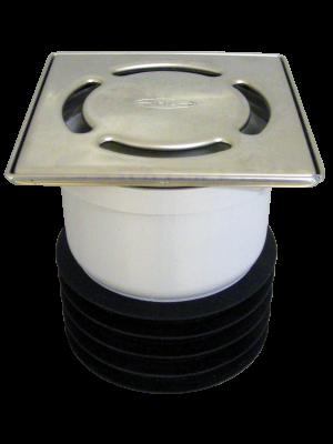 vertikalni podni slivnik za postavljanje u cev bez mufa
