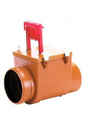 nepovratna klapna sa ručnim zatvaračem za otpadne vode